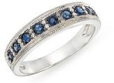 Ice.com 3/8 Carat Sapphire and Diamond 14K White Gold Ring