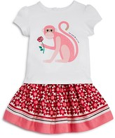 Kate Spade Infant Girls' Monkey Tee, Skirt & Bloomers Set - Baby