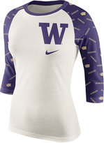 Nike Women's Washington Huskies Triblend Veer Raglan T-Shirt