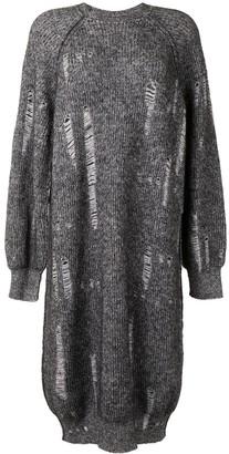 Y's Distressed Knit Dress