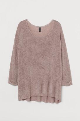 H&M H&M+ Loose-knit jumper