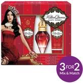 Katy Perry Killer Queen 30ml EDP, Shower Gel + Body Lotion Gift Set