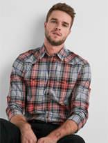 Lucky Brand Western Flannel Shirt