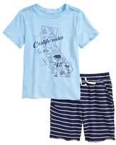 Splendid California Map T-Shirt & Shorts Set