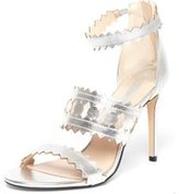 Dorothy Perkins Womens Online Exclusive Silver 'Sophia' Sandals- Silver