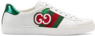Gucci Men's Ace sneaker with GG apple
