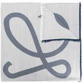 Loewe frayed logo scarf