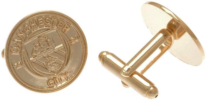 Manchester City Gold Plated Cufflinks.