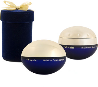 Premier Luxury Skin Care Limited Edition Blue Velvet Box With Miracle Noir