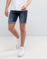 Blend of America Dark Blue Denim Shorts