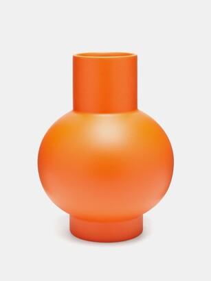 Raawii - Strm Large Ceramic Vase - Orange