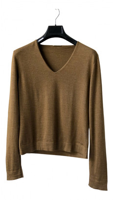 Hermes Gold Cashmere Knitwear