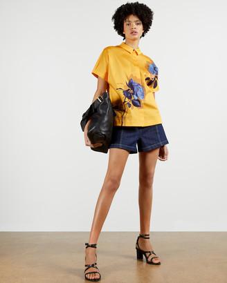Ted Baker AIDENN Modernity oversize short sleeve shirt