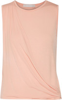 Kain Label Ione layered wrap-effect stretch-modal top