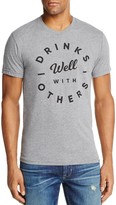 Kid Dangerous Drinks Well With Others Graphic Crewneck Short Sleeve Tee