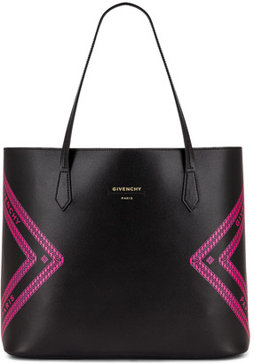 Givenchy Wing Shopping Bag in Black & Pink   FWRD