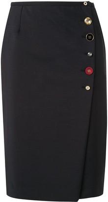 Ports 1961 Button-Up Skirt