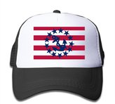 Czgc USA Sailing Flag Archor Boys Baseball Hats
