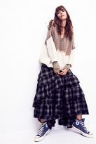Nicholas K x Free People Womens ENYA PLAID SKIRT