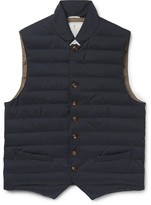 Brunello Cucinelli - Quilted Waterproof Shell Gilet
