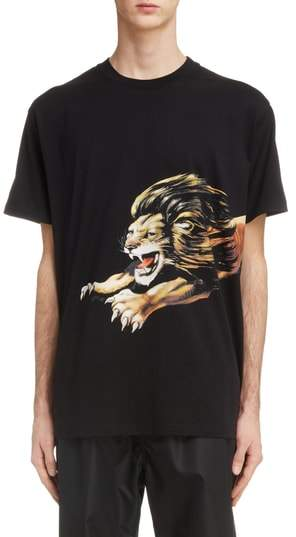 Givenchy Lion Graphic T-Shirt