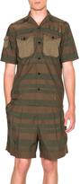 Kolor Striped Button Down Shirt