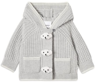Burberry Kids Knitted Thomas Bear Cardigan