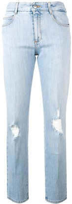 Stella McCartney Distressed Slim Jeans