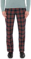 Gucci Tailored-fit Tartan Trousers