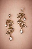 BHLDN Roseate Chandelier Earrings