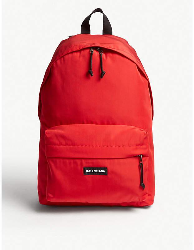 Balenciaga Red Explorer Backpack