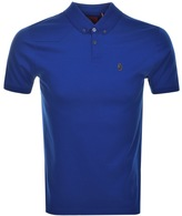 Luke 1977 Stan Poole Polo T Shirt Blue