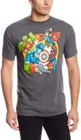 Marvel Team-Ups Men's Digi Battle T-Shirt