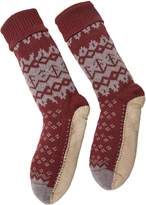 White Stuff Otto Fairisle Slipper Sock