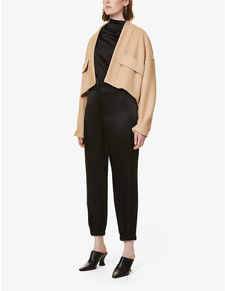 Sportmax Natalin wool and cashmere coat
