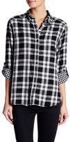 Joe Fresh Plaid Roll Tab Shirt