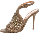 Alexa Wagner Leather Cage Pumps w/ Tags