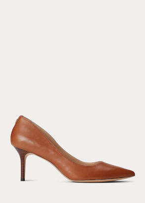 Ralph Lauren Lanette Leather Pump