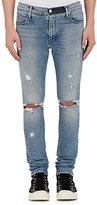 RtA Men's Distressed Jeans-BLUE
