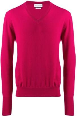 Ballantyne knit V-neck sweater
