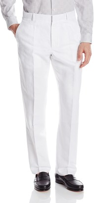 Perry Ellis Men's Big and Tall Linen Suit Pant
