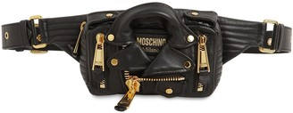 Moschino LEATHER JACKET BELT BAG