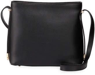 Neiman Marcus Textured Leather Shoulder Bag