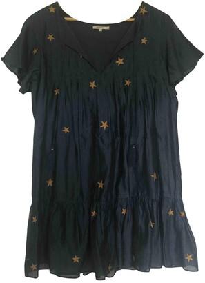 Tularosa Blue Cotton Dress for Women