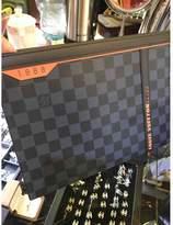 Louis Vuitton Voyage Black Cloth Bags