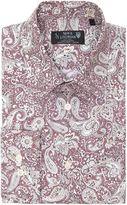 New & Lingwood Radley Paisley Print Shirt