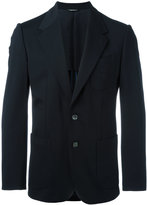 Dolce & Gabbana embroidered bee & crown blazer - men - Spandex/Elastane/Cupro/Viscose/polyester - 46