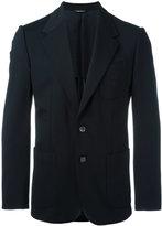 Dolce & Gabbana embroidered bee & crown blazer - men - Viscose/Polyimide/Spandex/Elastane/polyester - 46