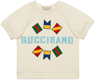 Gucci Baby cotton sweatshirt with Band