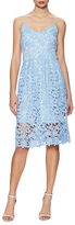 Alexia Admor Pale Blue Lace Midi Dress